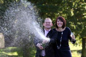 Lottery winners David and Debra Allsobrook