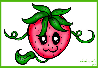 strawberry_tattoo_design_by_bebesushii