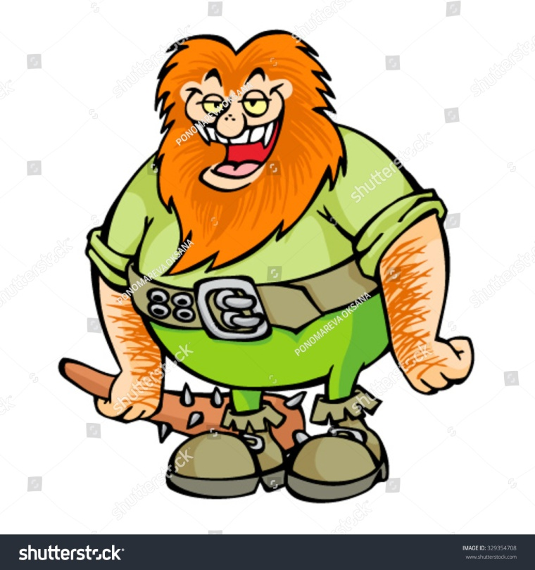 stock-vector-redhead-ogre-with-cudgel-329354708